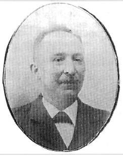 Glasmager Theodor Lennartz, orkestrets første dirigent.